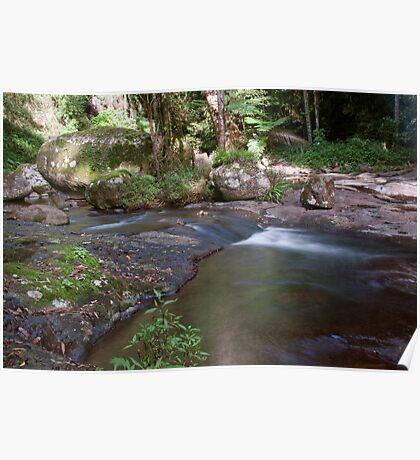 Kalgamahla Falls, West Canungra Creek Circuit Poster