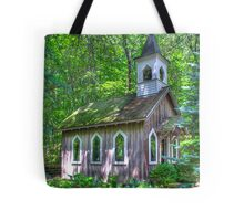 Little Chapel in the Woods Tote Bag
