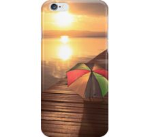 No need for the brolly_Long Jetty iPhone Case/Skin