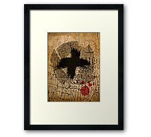 Those who deny freedom to others deserve it not for themselves. Framed Print