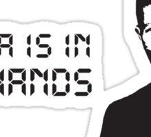 President David Palmer Sticker