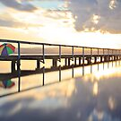 Long Jetty Sunset by Sharon Kavanagh