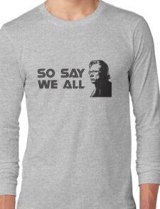 Admiral Adama Long Sleeve T-Shirt