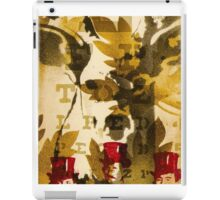 Vintage tag hunter iPad Case/Skin