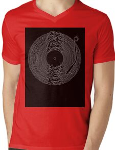Soundscape Mens V-Neck T-Shirt