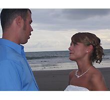 Exchanging Vows Photographic Print