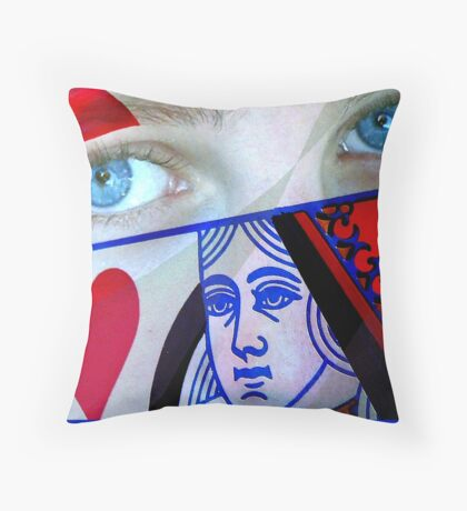 Through The Looking Glass: Alice Throw Pillow