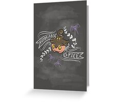 Pumpkaboo Spice  Greeting Card