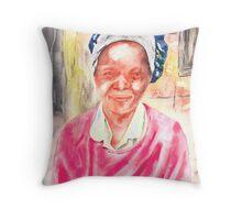 The Good Woman Throw Pillow