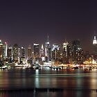 Midtown Manhattan New York City by cvrestan