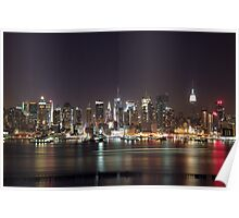 Midtown Manhattan New York City Poster