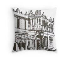 Kensington, Melbourne Victoria.  Bellair St ©  Throw Pillow