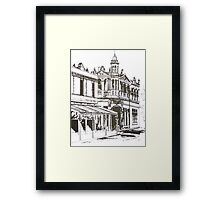 Kensington, Melbourne Victoria.  Bellair St ©  Framed Print