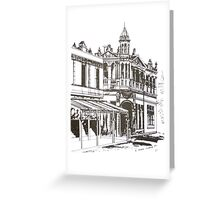 Kensington, Melbourne Victoria.  Bellair St ©  Greeting Card