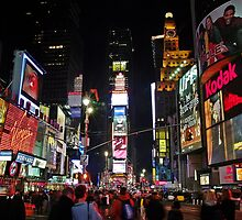 Times Square @ New York City by cvrestan