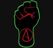 Black Atheist Fist Unisex T-Shirt