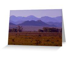 photoj S.A. Flinders Rangers Greeting Card