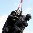 Iwo Jima War Memorial II by Sheryl Unwin