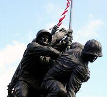 Iwo Jima War Memorial II by Sheryl Unwin
