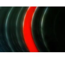 Vinyl Abstract Photographic Print