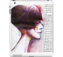 Journal page-dream 2 iPad Case/Skin