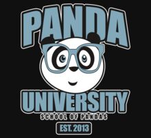 Panda University - Blue 2 Kids Clothes