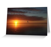 Sunrise at Dunsborough Greeting Card