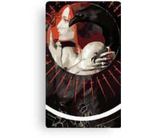 Leliana Tarot Card Canvas Print