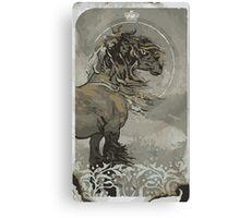 Noble Trevelyan Tarot Card Canvas Print