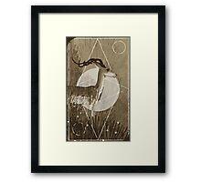 Halla Tarot Card Framed Print