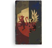 Hero Of Ferelden Tarot Card Canvas Print