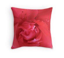 Heinz Ketchup Rose Throw Pillow