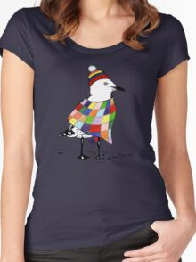 Chilli the Seagull T-shirt Women's Fitted Scoop T-Shirt
