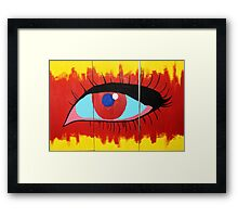 Detached from Reality Framed Print