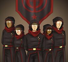 The Red Battalion by ravinesque-art