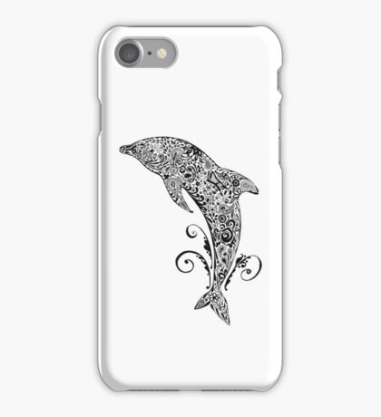 Dolphin Doodle iPhone Case/Skin