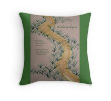Mizunoiro 2 Throw Pillow