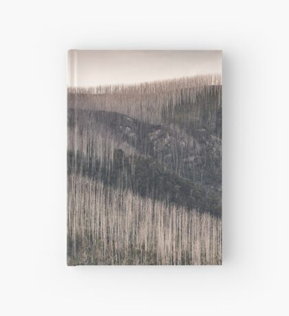 Lake Mountain evening panorama 2 Hardcover Journal