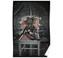 Blanches life had felt like a bit of a train wreck lately.  As she sat with her heart in her hands on the railway track she waited for the train to round the bend... Poster