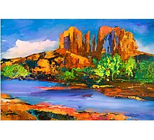 Cathedral Rock Afternoon Photographic Print