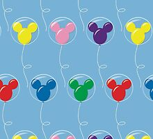 Mickey Balloons with Bubble - Pattern by jessicasjargon