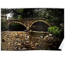 Wycoller Bridge Poster