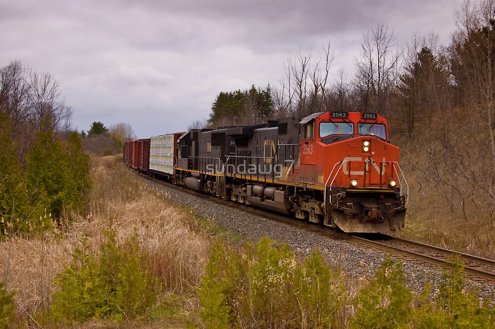 Rural Rail Route by sundawg7