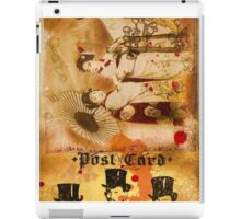Vintage tag 6 iPad Case/Skin