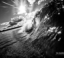 Kingy barrell BW by Tim Richardson