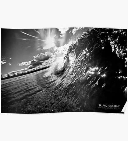 Kingy barrell BW Poster