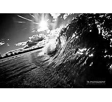 Kingy barrell BW Photographic Print