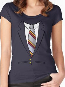 Anchorman Suit Women's Fitted Scoop T-Shirt