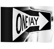 One Way? Poster