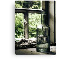 18.6.2010: Bottle full of Oblivion Canvas Print